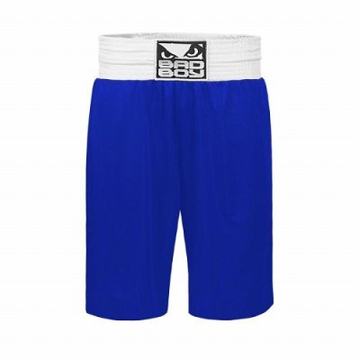 Photo2: BAD BOY Boxing Shorts STINGER Blue SALE