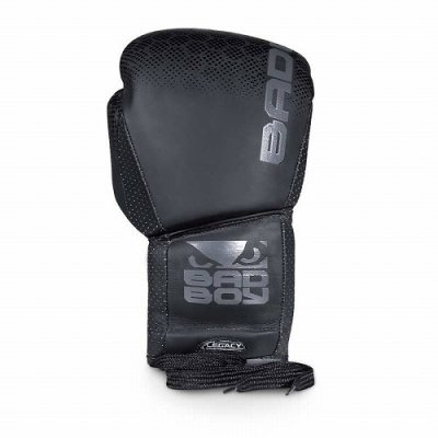 Photo2: BAD BOY Lace Up Boxing Glove Legacy 2.0 Black  SALE