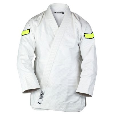 Photo1: HYPERFLY Jiu Jitsu Gi Icon III White