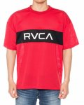 RVCA T-Shirt RVCA DEALER SS Red