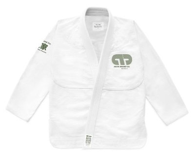 Photo1: MOYA BRAND Jiu jitsu Gi STANDARD ISSUE IV White/Green