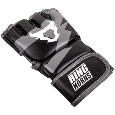 Photo2: RINGHORNS MMA Glove CHARGER Black