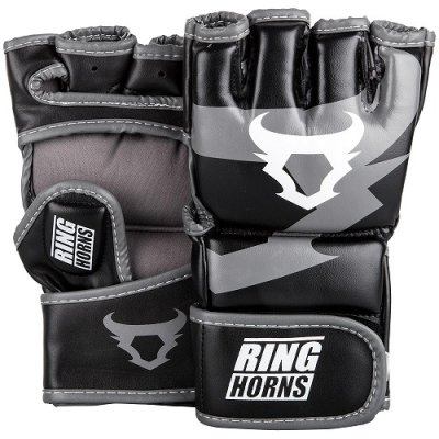 Photo1: RINGHORNS MMA Glove CHARGER Black