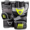 RINGHORNS MMA Glove CHARGER Black/Fluorescent Yellow