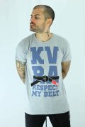 KVRA T-Shirt BELT Gray