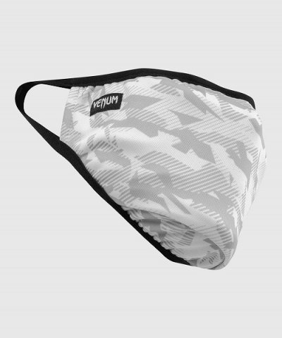 Photo2: VENUM Face Mask LASER White Camo