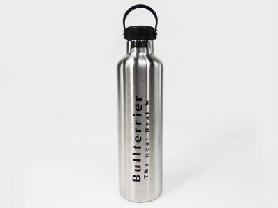 Photo2: BULL TERRIER Stainless Water Bottle 1000ML