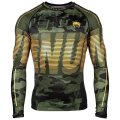 VENUM Rashguard TACTICAL Long Sleeve Forest Camo/ Black