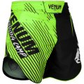 VENUM Fight Shorts Training Camp 2.0 Black/Fluorescent Yellow