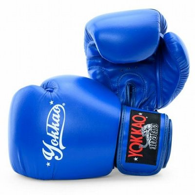 Photo1: Yokkao Boxing Glove VERTIGO Blue