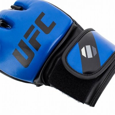 Photo2: UFC MMA Glove 5oz Blue
