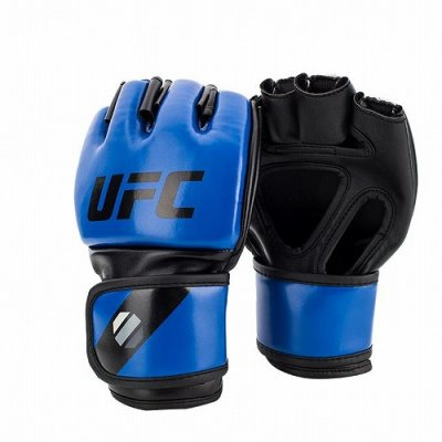 Photo1: UFC MMA Glove 5oz Blue