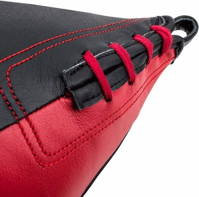 Photo3: UFC Leather Speed Bag Black / Red