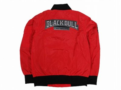 Photo3: BLACK BULL Light Jacket MILITARY Red