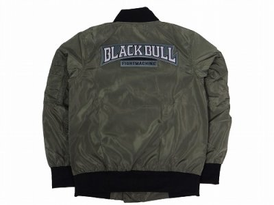 Photo3: BLACK BULL Light Jacket MILITARY Green