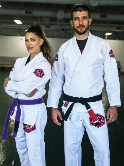 Photo3: Gracie Jiu Jitsu Gi LION White