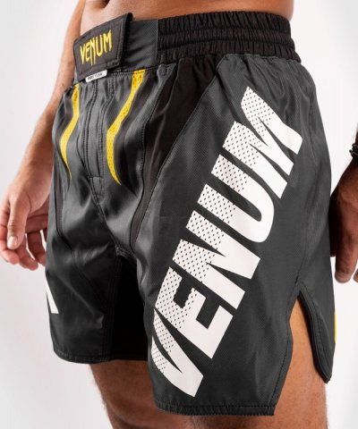Photo4: VENUM Fight Shorts ONE FC IMPACT Gray/Yellow