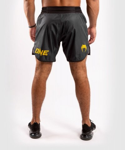 Photo2: VENUM Fight Shorts ONE FC IMPACT Gray/Yellow