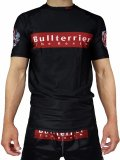 BULL TERRIER Rashguard BOX LOGO Short Sleeve Black