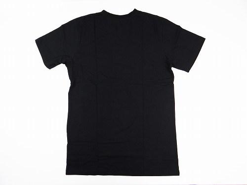 7b050a07c45351 RVCA T-Shirt FLIPPED RVCA 2 Black White.