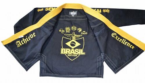 FUJI Jiu Jitsu Gi Sekai Brasil Edition Black / Yellow