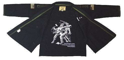 Fuji Sports Jiu-jitsu Gi COMBATIVES Black