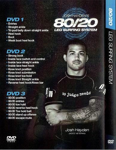 Photo2: DVD 80/20 leg surfing system Josh Haden 3 Disc