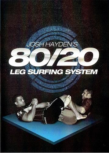 Photo1: DVD 80/20 leg surfing system Josh Haden 3 Disc